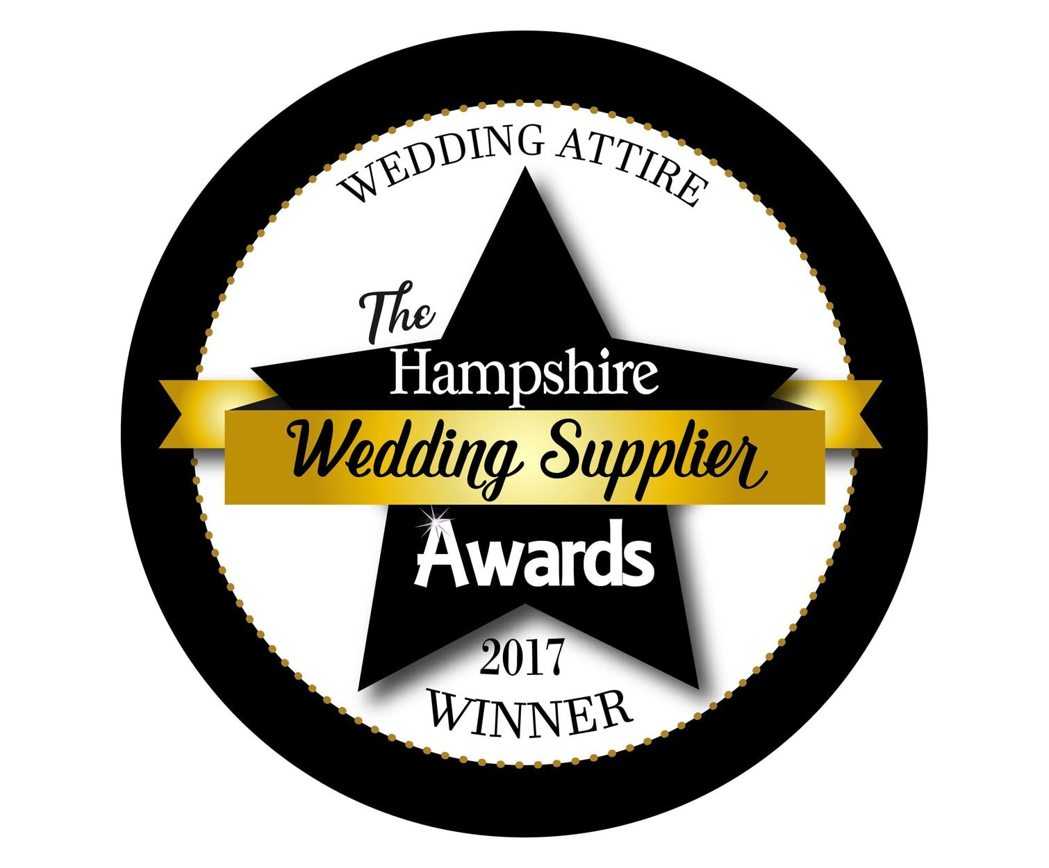 Winner Best Bridal Attire in Hampshire 2017