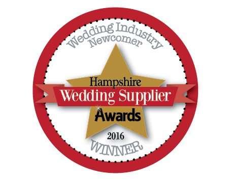award winning bridal boutique - winner Best Newcomer 2017 in Hampshiire