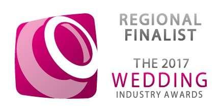 Finalist in Wedding Industry Awards 2018
